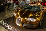 Золотистый Bugatti Veyron