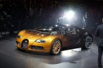 Bugatti Veyron на выставке