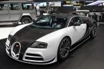 Bugatti Veyron - чёрно-белый