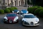 Парад Bugatti Veyron