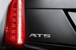 Cadillac ATS - сзади крупным планом
