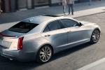 Cadillac ATS в движении
