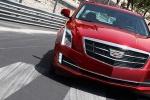 Cadillac ATS в красном цвете - вид спереди