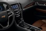 Cadillac ATS - руль и консоль
