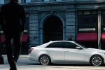 Cadillac CTS - белый