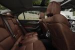 Cadillac CTS - кожаный салон: задний диван