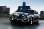Cadillac CTS - в городском движении