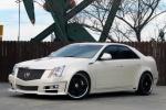 Cadillac CTS - белый тюнинг