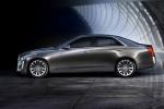 Cadillac CTS 2015, вид сбоку