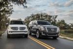 Cadillac Escalade и его главный конкурент - Lincoln Navigator