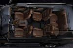 Cadillac Escalade - вид сверху прозрачный салон