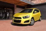 Chevrolet Aveo - жёлтый