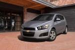 Chevrolet Aveo - серебристый