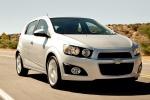 Chevrolet Aveo в движении