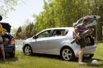 Chevrolet Aveo на пикнике