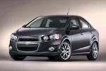 Chevrolet Aveo - в чёрном цвете